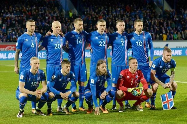 目前冰岛的阵容