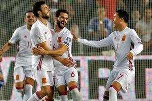 伊利亚拉门迪爆射世界波 西班牙1-0收官