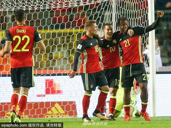 比利时4-0不败出线