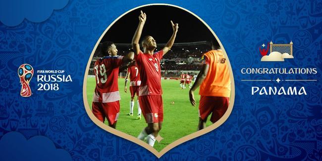 巴拿马第一次打进世界杯!