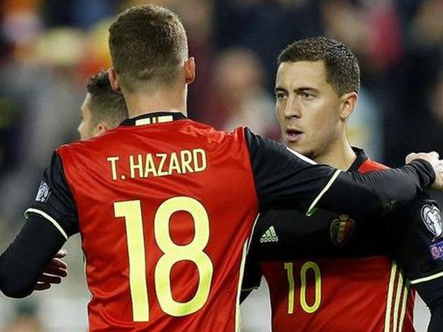 比利时4-0闯入世界杯