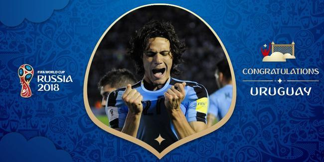 乌拉圭是南美区的第二