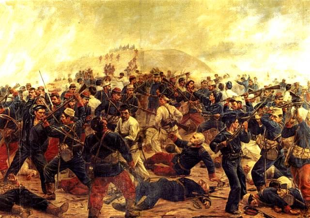 """当年的智利和玻利维亚发生过""""硝石战争"""""""