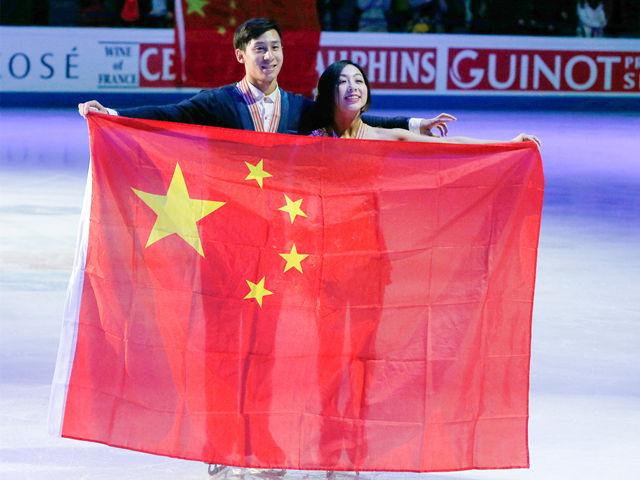 中国杯花滑大奖赛 隋文静韩聪全新演绎《图兰朵》