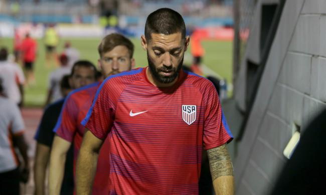 邓普西在2014年带领美国打入世界杯 但今年却没能成功