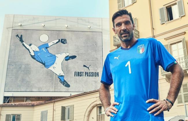 PUMA全新意大利队球衣惊世登场