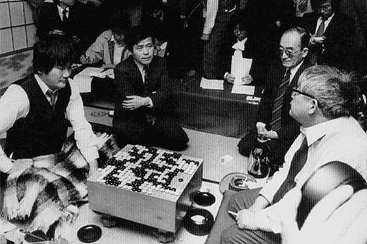 日本第7期棋圣战挑战七番棋第七局局后