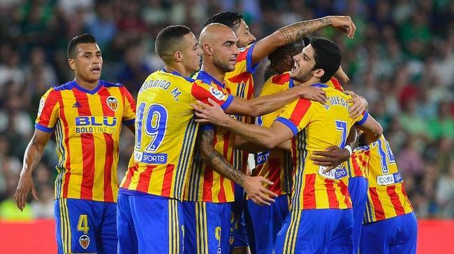 西甲-瓦伦西亚6-3客胜贝蒂斯
