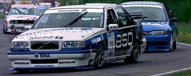 Polestar的前身Cyan Racing最初沃尔沃850车型参赛(1996)