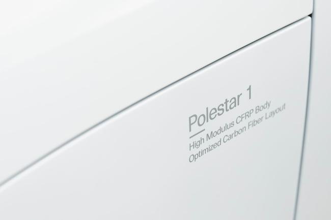 碳纤维车身减轻了Polestar 1的车身重量,抗扭刚度提高了45%