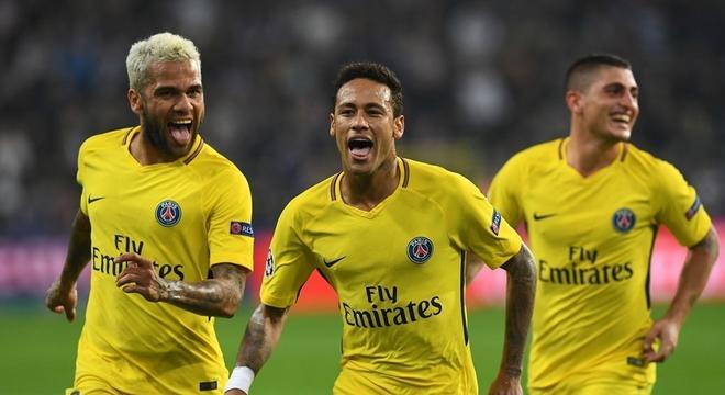 欧冠-内马尔破门姆巴佩传射 巴黎4-0胜