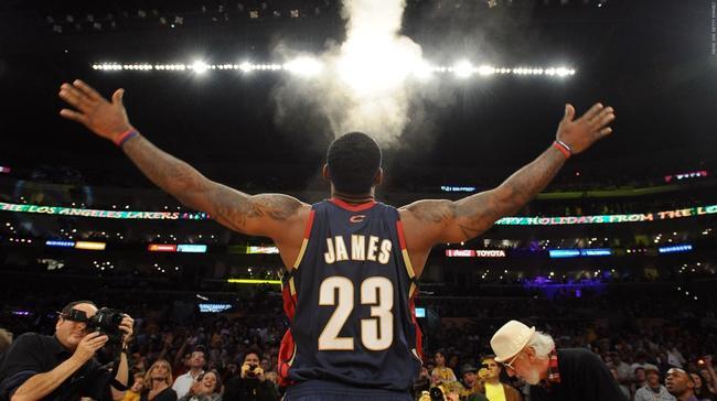 詹皇:若跟儿子在NBA对位会用恶犯 不亏欠克城