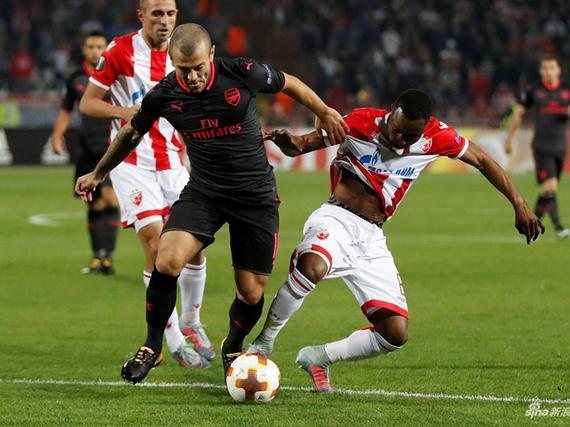 视频录播-欧联小组赛 贝尔格莱德红星VS阿森纳上半场