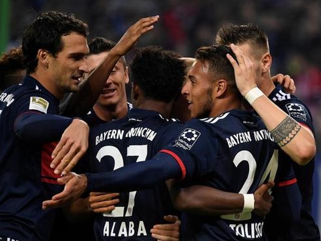 拜仁1-0客胜10人汉堡