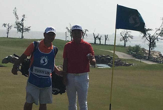 林钰鑫与父亲