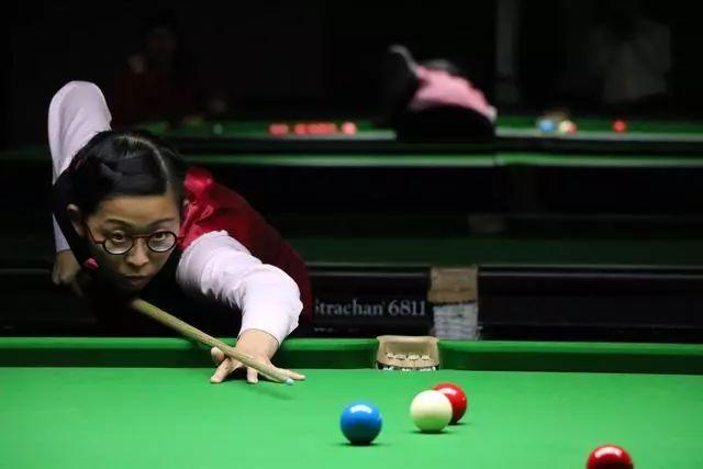 香港斯诺克女将望创造历史 期待下月登顶世界第1