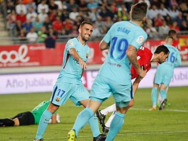 国王杯巴萨3-0穆尔西亚