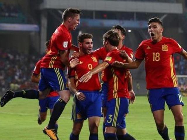 U17世界杯西班牙晋级决赛
