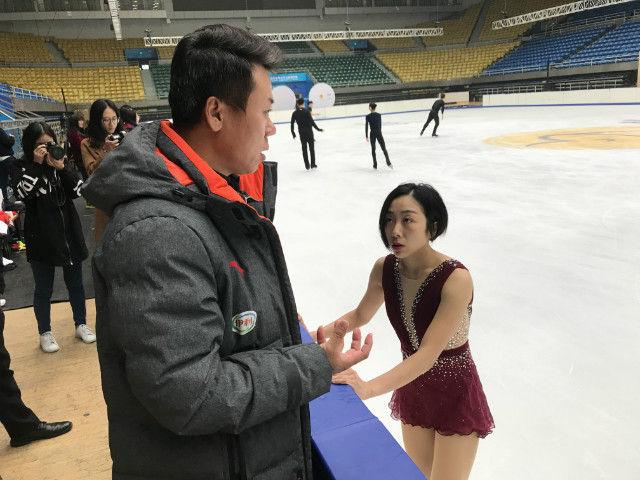 """国家花滑队备战中国杯 赵宏博期待""""开门红"""""""