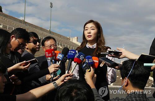 金妍儿将在雅典迎冬奥会圣火 期待韩国境内传递