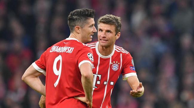 莱万和穆勒的缺阵 让拜仁的攻击线缺少了一锤定音的能力