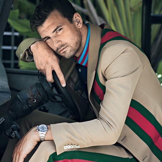迪米特洛夫登男士时尚杂志 展示英俊帅气一面