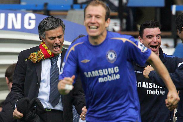 罗本在穆帅手下成为欧洲顶级边锋