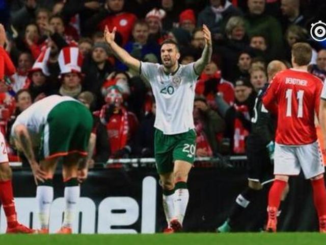 世预赛爱尔兰0-0丹麦