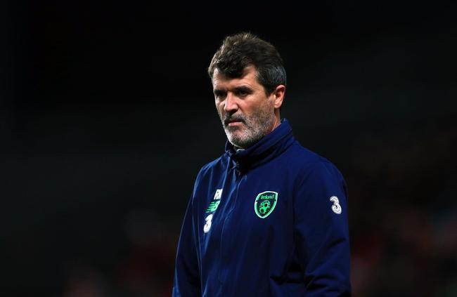 爱尔兰助理教练罗伊-基恩