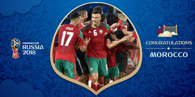 摩洛哥第5次晋级世界杯