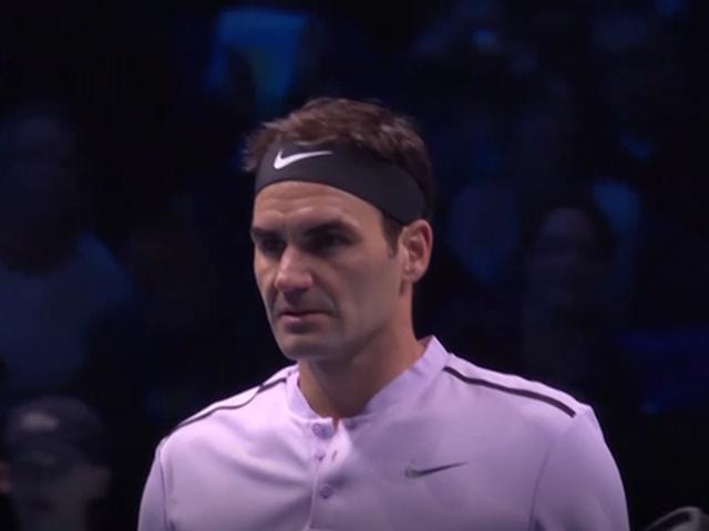 视频-ATP年终总决赛 费德勒轻取索克赢开门红