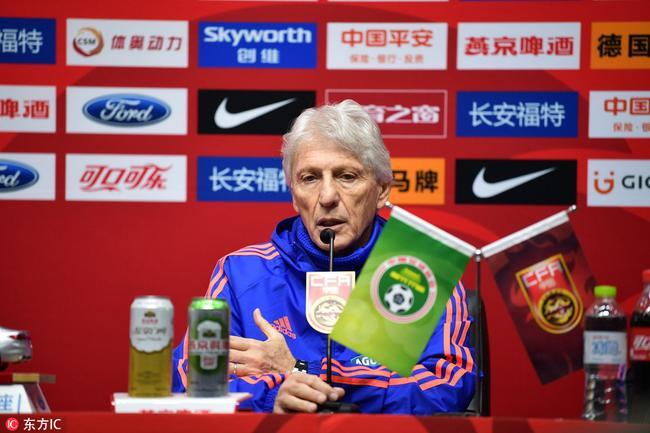 哥伦比亚队主教练佩克尔曼