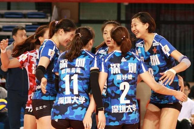 排超八一女排逆转恒大夺4连胜 上海天津保持不败