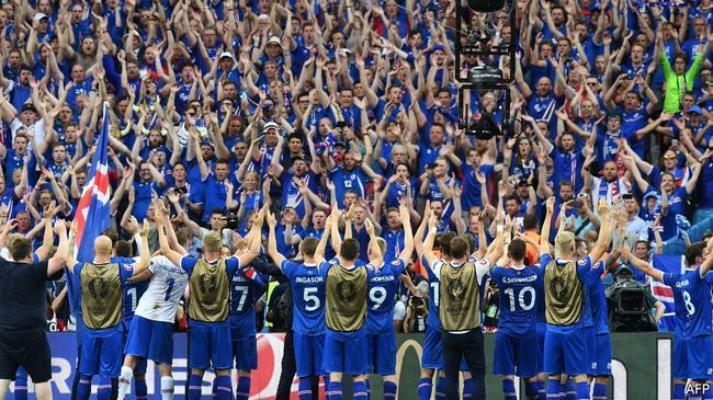 冰岛队将首次参赛