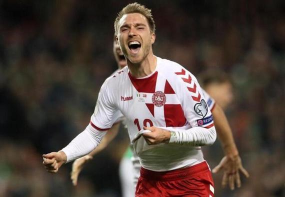 丹麦5-1第5次进世界杯