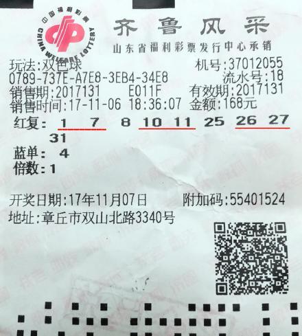 福彩顶级发烧友9+1智取双色球二等奖