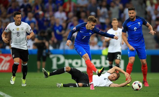 法国队2016年欧洲杯淘汰了德国队