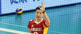 排超第六轮上海女排3-0天津女排