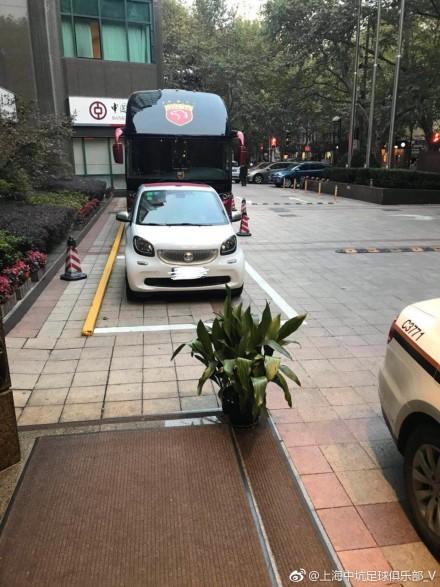 朱骏豪车停上港大巴前险成盘外招 笑言助申花领先