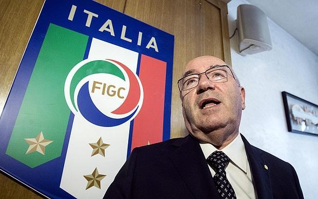塔维奇奥刚刚辞去意大利足协主席职务