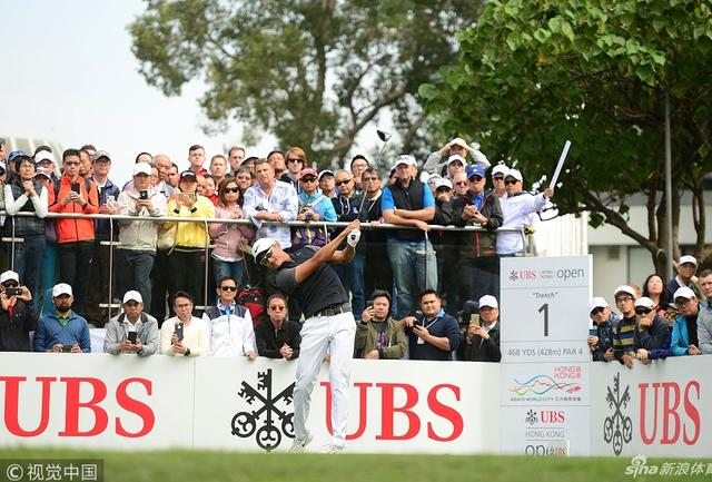 香港公开赛首轮印度名将领先 李昊桐罗斯68杆