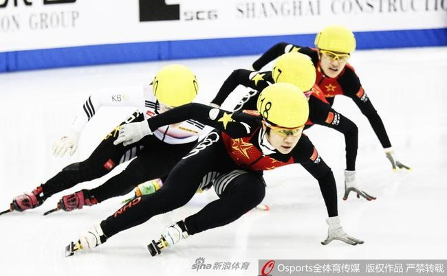 上海超级杯短道速滑混合接力中国夺冠 三金收官