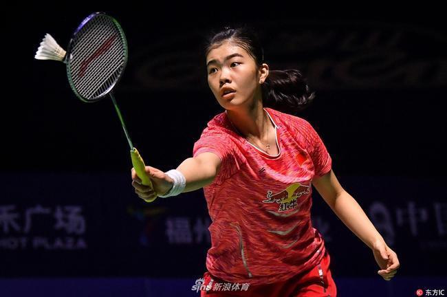 高昉洁在中国公开赛上一鸣惊人