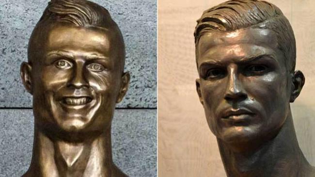 两铜像对比