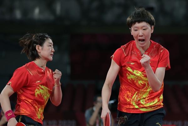 日本网友:只有我们有机会赢中国女乒 双打最关键