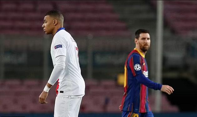意媒;姆巴佩周一宣布未来去向  梅西加盟让他不快