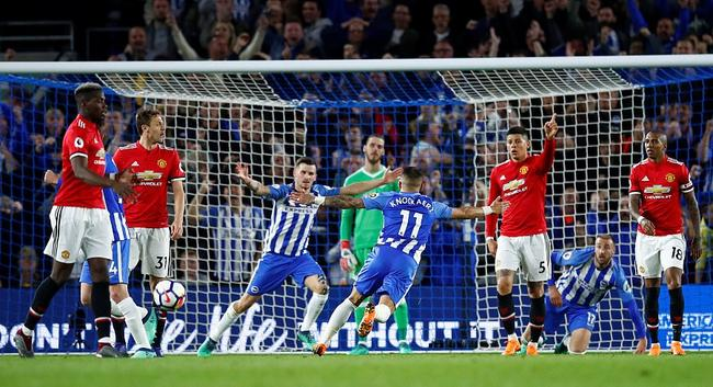 曼联0-1布莱顿 客战升班马全部告负