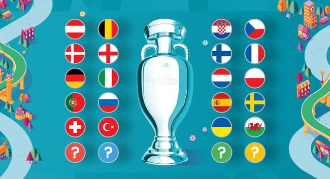 20队已晋级欧洲杯正赛