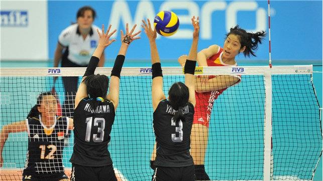 中国女排在1995年、2013年和2017年三次夺冠