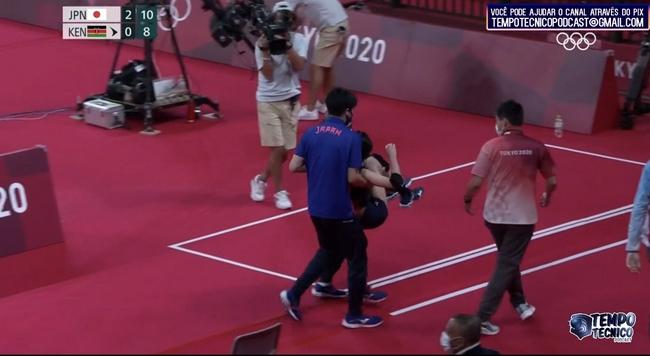 奥运女排日本3-0完胜肯尼亚 主攻古贺纱理那受伤